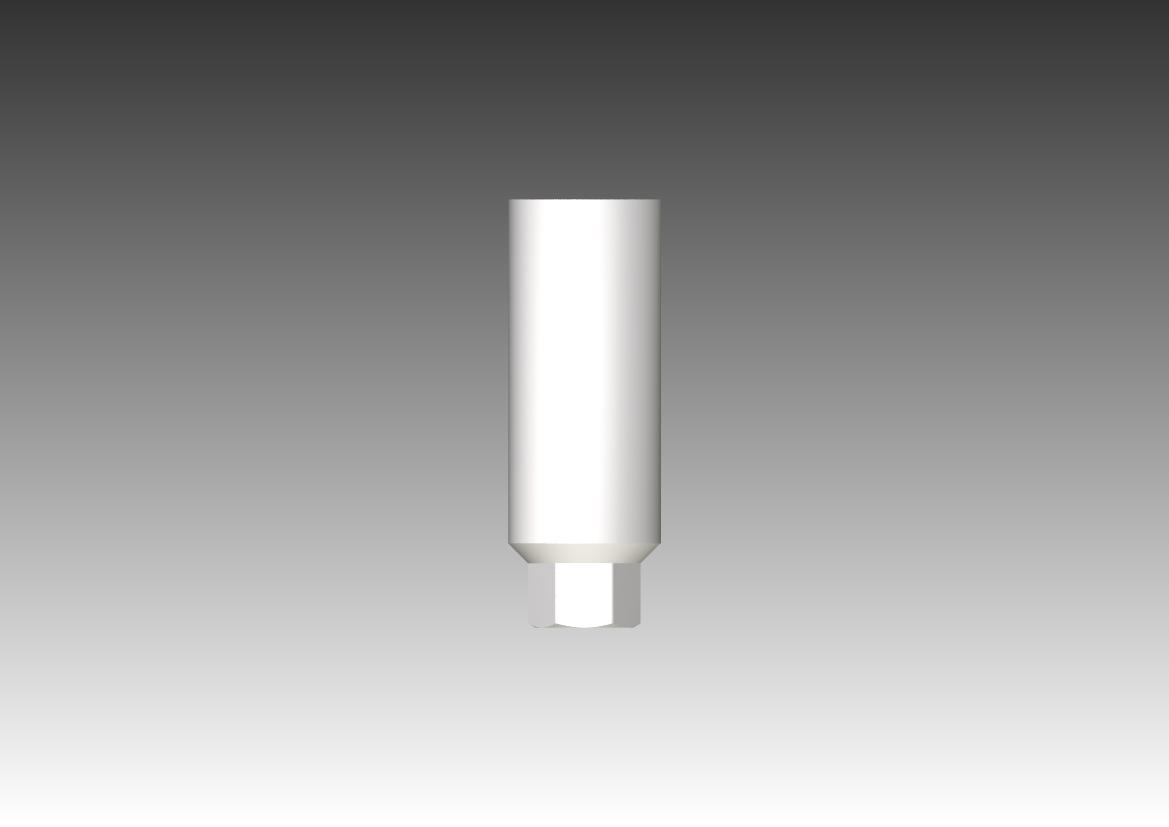 Пластиковый беззольный абатмент - абатменты